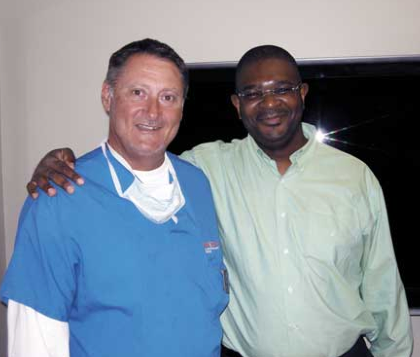 Dr. John P. Cole and Dr. Patrick Mwamba